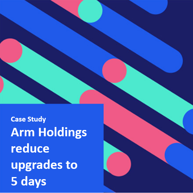 Arm upgrade servicenow in 5 days
