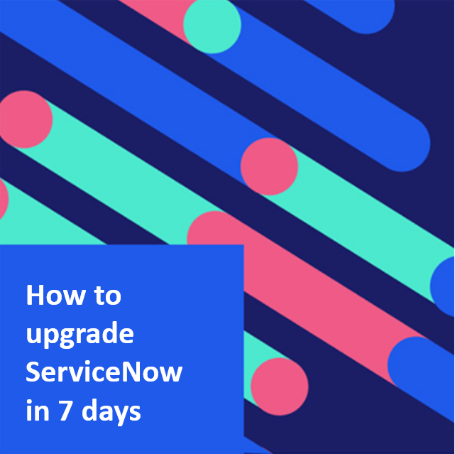 Upgrade in 7 days